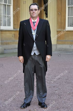 Stock Image of David Blanchflower is awarded a CBE for services to Economics and to the Monetary Policy Committee, Bank of England