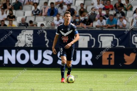 Editorial picture of Girondins de Bordeaux v Angers, Ligue 1 football, Bordeaux, France - 22 Aug 2021