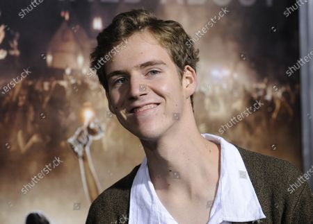 """Cast member Dax Flame attends the premiere of the film """"Project X"""" at the Grauman's Chinese Theatre in the Hollywood section of Los Angeles on February 29, 2012."""
