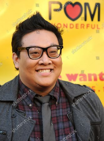 """Daniel Nguyen, a cast member in the motion picture comedy """"She Wants Me"""", attends the premiere of the film at the Music Hall 3 theatre in Beverly Hills, California on April 5, 2012."""