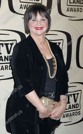 Cindy Williams arrives for the 10th Anniversary of the TV Land Awards at the Lexington Avenue Armory in New York on April 14, 2012.