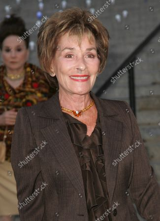 """Judith """"Judge Judy"""" Sheindlin arrives for the Vanity Fair Party at the State Supreme Court building which kicks off the start of the Tribeca Film Festival on April 17, 2012 in New York City."""