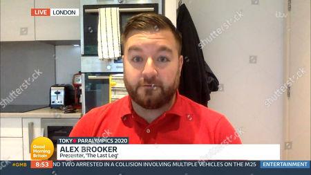Editorial photo of 'Good Morning Britain' TV Show, London, UK - 24 Aug 2021