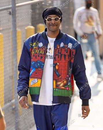 Stock Photo of Snoop Dogg