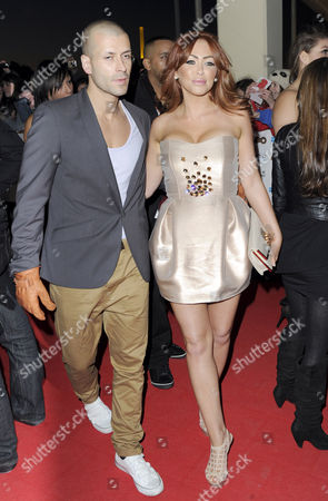 Natasha Hamilton and husband Riad Erraji