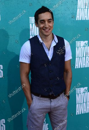 Actor Keahu Kahuanui arrives at the MTV Movie Awards at the Gibson Amphitheatre in Universal City, California on June 3, 2012.