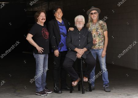 Editorial picture of Doobie Brothers Portrait Session, Los Angeles, United States - 17 Aug 2021