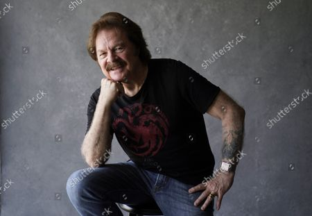 Tom Johnston, of the Doobie Brothers, poses for a portrait at Show Biz Studios, in Los Angeles. The band has a tour and album out this fall