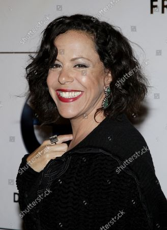Bebel Gilberto arrives on the red carpet at the Friars Club and Friars Foundation Entertainment Icon Awards at the Waldorf Astoria in New York City on June 12, 2012.