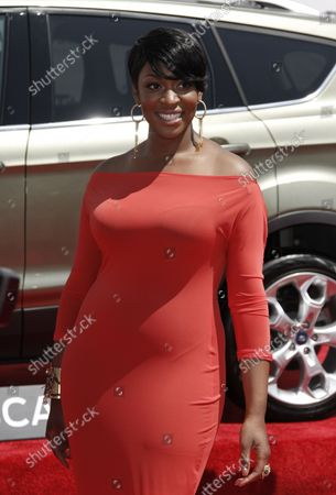 Stock Photo of Singer Jessica Reedy arrives for the BET Awards 12 at the Shrine Auditorium in Los Angeles on July 1, 2012.