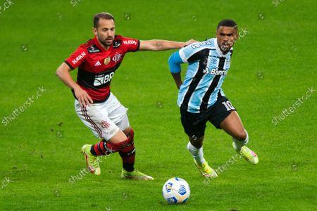 Editorial photo of Gremio v Flamengo, Copa do Brasil football match, Arena do Gremio, Porto Alegre, Brazil - 25 Aug 2021