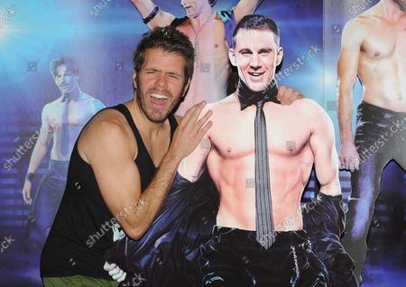 รูปภาพสำหรับบทความข่าว Magic Mike Premiere, London, England - 10 Jul 2012