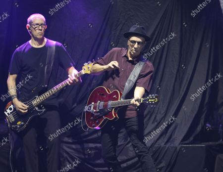 Steve Marker and Duke Erikson with Garbage Performs at Ameris Bank Amphitheatre, in Alpharetta