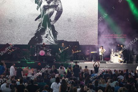 Editorial photo of Garbage In Concert - Atlanta, Alpharetta, United States - 20 Aug 2021