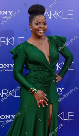 Editorial image of Sparkle Premiere, Los Angeles, California, United States - 17 Aug 2012