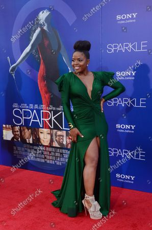 Editorial photo of Sparkle Premiere, Los Angeles, California, United States - 17 Aug 2012
