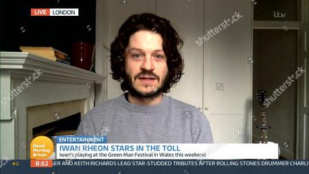 Editorial image of 'Good Morning Britain' TV Show, London, UK - 25 Aug 2021
