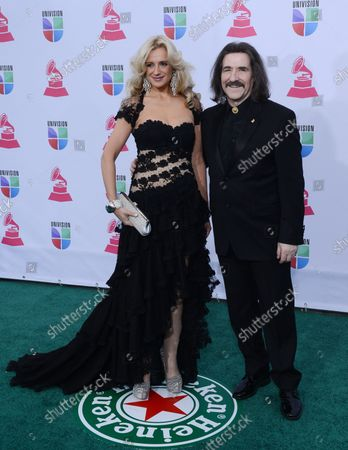 Editorial image of The 2012 Latin Grammy Awards, Las Vegas, Nevada, United States - 15 Nov 2012