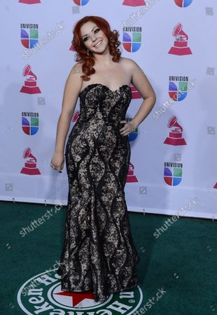 Stock Photo of Marilyn Odessa arrives for the 2012 Latin Grammy Awards at the Mandalay Bay Events Center in Las Vegas, Nevada on November 15, 2012.