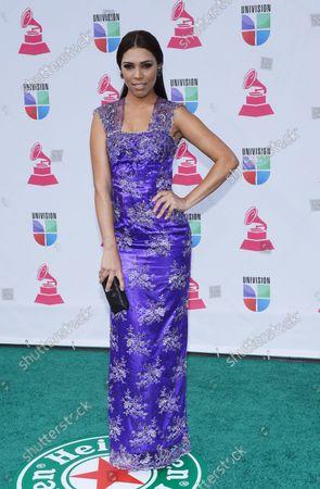 Stock Photo of Zoila Ceballos arrives for the 2012 Latin Grammy Awards at the Mandalay Bay Events Center in Las Vegas, Nevada on November 15, 2012.