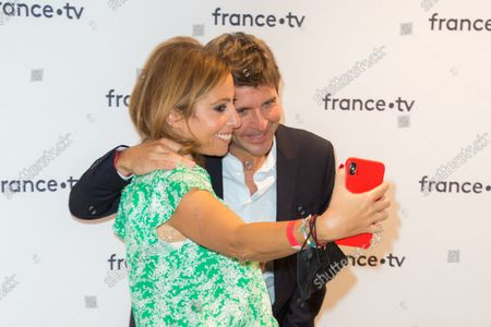 Editorial image of France Television press conference, Paris, France - 24 Aug 2021