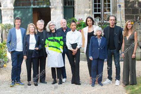Stock Photo of Nicole Garcia Reda Kateb, Marie NDiaye, Antonin Baudry, Noemie Schmidt, Philippe Van Leeuw, Catherine Leterrier, Leila Kaddour