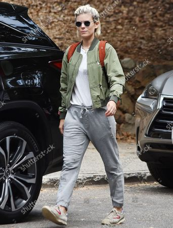 Editorial photo of Kate Mara goes for a walk with her daughter, Los Angeles, California, USA - 23 Aug 2021