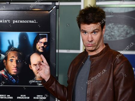 """Dave Sheridan, a cast member in the motion picture comedy """"A Haunted House"""", attends the premiere of the film at the Arclight Cinerama Dome in the Hollywood section of Los Angeles on January 3, 2013."""