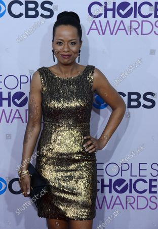 Actress Tempestt Bledsoe attends the People's Choice Awards 2013 at Nokia Theatre L.A. Live in Los Angeles on January 9, 2013.