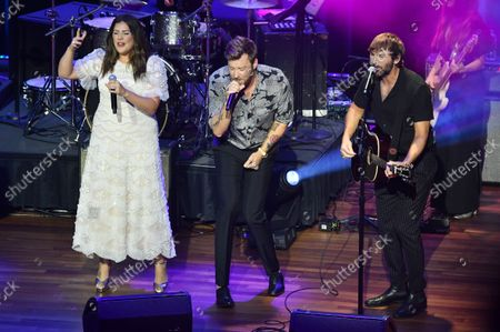 Hillary Scott, Charles Kelley, and Dave Haywood of Lady A