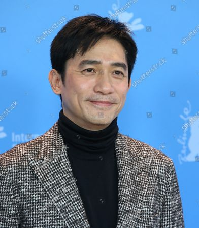 """Tony Leung Chiu Wai arrives at the photo call for the film """"The Grandmaster"""" during the opening of the 63rd Berlinale Film Festival in Berlin on February 7, 2013."""