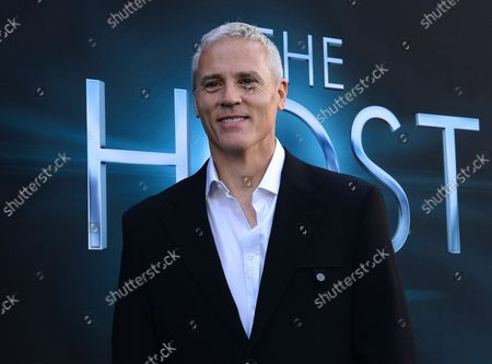 """Phil Austin, a cast member in the motion picture sci-fi thriller """"The Host"""", attends the premiere of the film at the ArcLight Cinerama Dome in the Hollywood section of Los Angeles on March 19, 2013."""