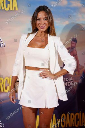 Cecilia Gomez attends the 'Garcia y Garcia' premiere at Callao City Lights cinema in Madrid.