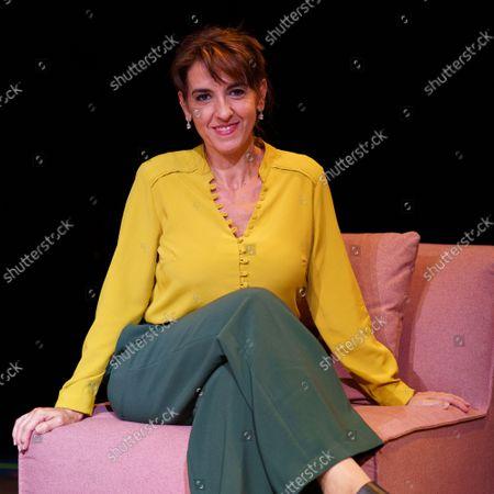 Editorial picture of Llum Barrera portrait session, Madrid, Spain - 25 Aug 2021