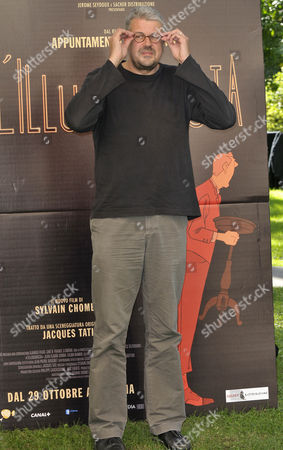 Editorial image of 'The Illusionist' film photocall in Rome, Italy - 21 Oct 2010