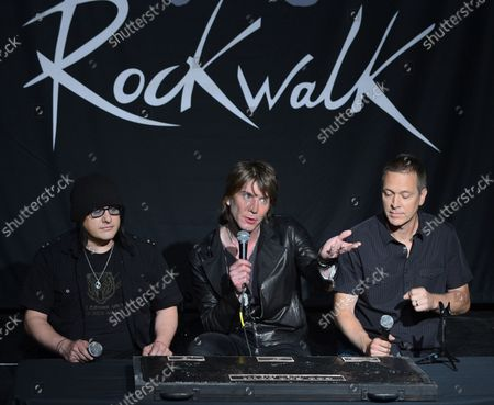 Editorial image of Goo Goo Dolls Rockwalk, Los Angeles, California, United States - 07 May 2013