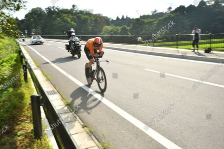 Tom Dumoulin (NED) - Cycling : Men's Individual Time Trial during the Tokyo 2020 Olympic Games in Shizuoka, Japan.
