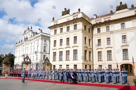 Editorial picture of Germany, Prague, Czech Republic - 26 Aug 2021