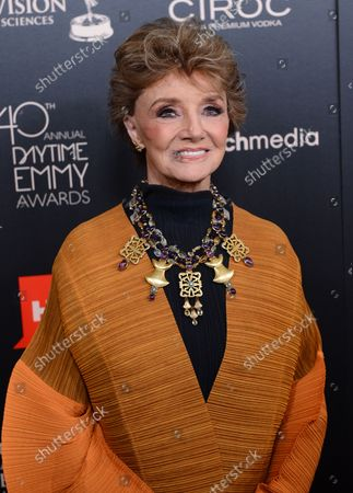 Peggy McCay arrives for the the National Academy of Television Arts & Science's 40th annual Daytime Emmy Awards at the Beverly Hilton in Beverly Hills, California on June 16, 2013.