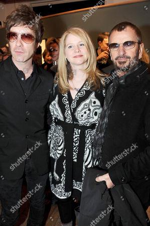 Jay Mehler, Lee Starkey and Ringo Starr