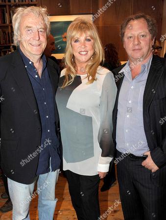Frank Lowe, Patti Boyd and Michael Hoppen