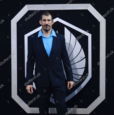 """Stock Picture of Actor Robert Maillet, a cast member in the sci-fi motion picture """"Pacific Rim"""", attends the premiere of the film at the Dolby Theatre in the Hollywood section of Los Angeles on July 9, 2013."""