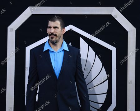 """Stock Image of Actor Robert Maillet, a cast member in the sci-fi motion picture """"Pacific Rim"""", attends the premiere of the film at the Dolby Theatre in the Hollywood section of Los Angeles on July 9, 2013."""