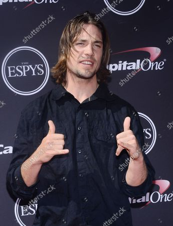 Skier Rory Bushfield attends the 2013 ESPY Awards at the Nokia Theatre L.A. Live in Los Angeles on July 17, 2013.