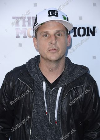 """Cast member Rob Dyrdek attends the premiere of the film """"The Motivation"""" at the Arclight Theatre in the Hollywood section of Los Angeles on July 30, 2013."""
