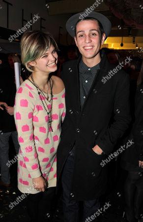 Pixie Geldof and Louis Simonon
