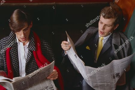 The Style Council (Pop Band) - Paul Weller and keyboardist Mick Talbot