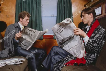 Stock Picture of The Style Council (Pop Band) - Paul Weller and keyboardist Mick Talbot
