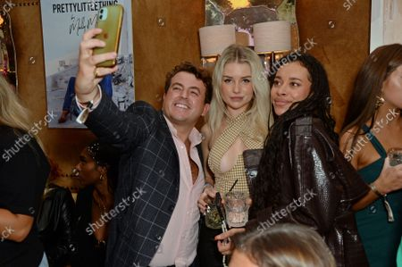 Edward Page, Lottie Moss and Blithe Saxon