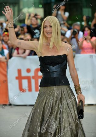 Kelly Rowan arrives at 'The Railway Man' premiere at Roy Thomson Hall during the Toronto International Film Festival in Toronto, Canada on September 6, 2013.
